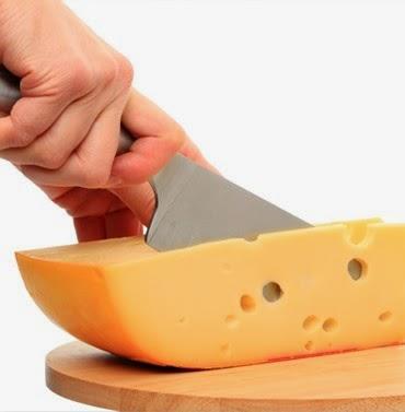 Partirte como un queso