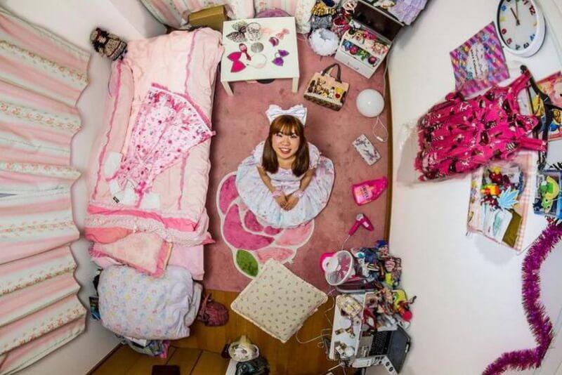 غرفة نوم من طوكيو - اليابان