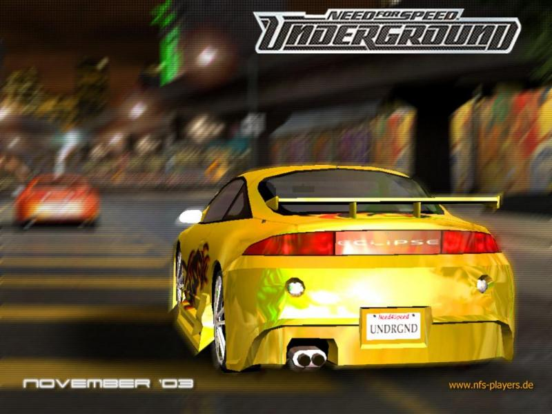 Nfs underground need for speed - Need for speed underground 1 wallpaper ...