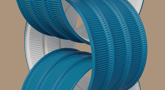 A surprisingly not so quick render of some heavily subdivided surfaces using the #filmic_blender colour correction.