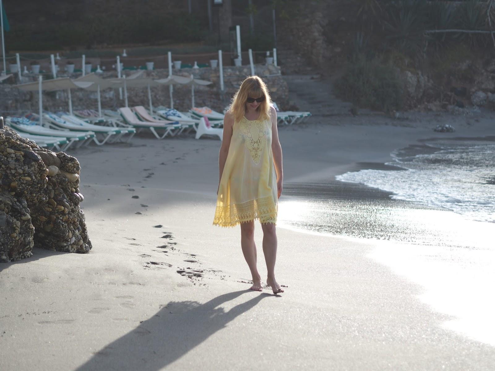 Yellow Iconique beach dress