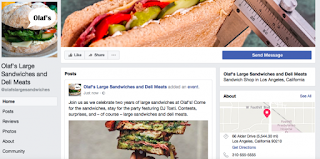 example of valuable posts on a Facebook Business Page