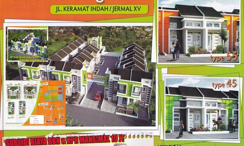 Rumah Cantik 300jt-an Jermal XV Medan Denai Ready Stock