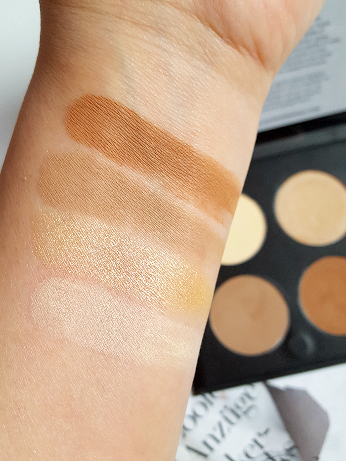 Review & Swatches: glominerals - Contour Kit - 13.2g - 69.50 Euro