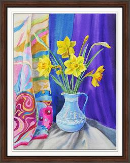 floral art for interior decor