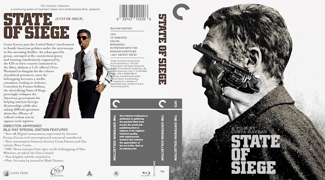 State Of Siege Bluray Cover