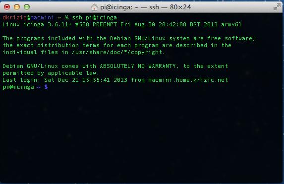 Darko Krizic TechBlog: Monitoring the network using Icinga