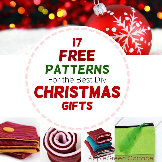 free patterns for diy Christmas gifts