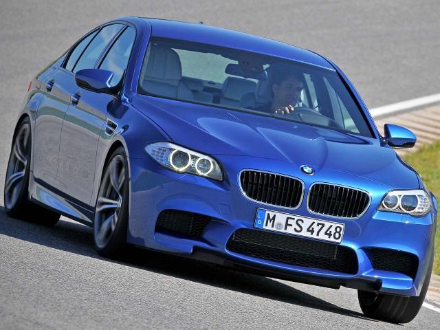 Test drive BMW M5 (F10)