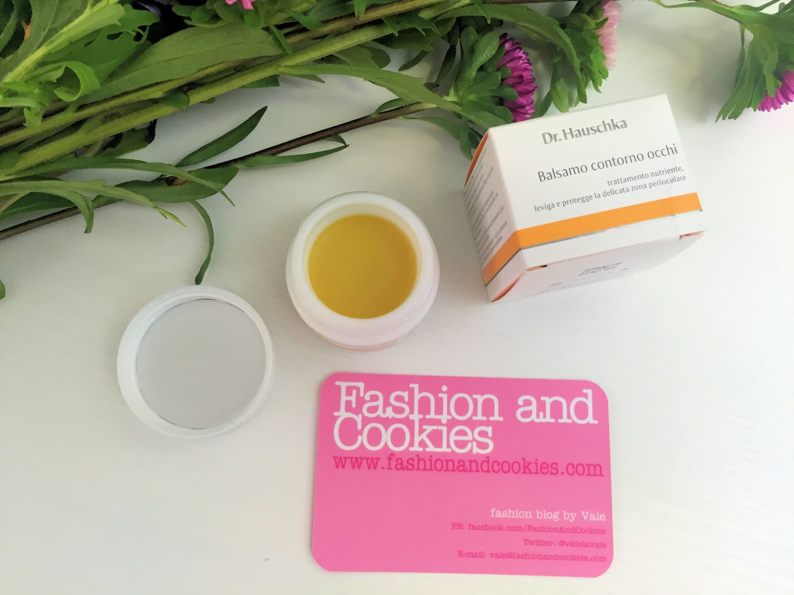 Dr Hauschka Balsamo contorno occhi on Fashion and Cookies beauty blog, beauty blogger