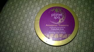 Recenzja - Avon Planet Spa peeling do ciała Amazonian Treasures
