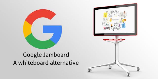 papan tulis pintar digital keluaran google jamboard