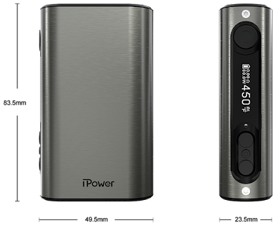 About Eleaf iPower 5000mAh Box Mod