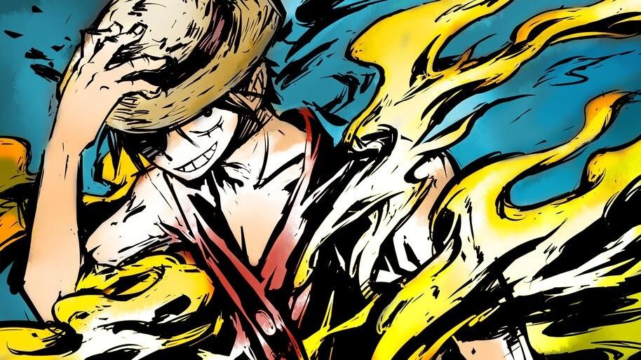 Luffy, One Piece, 4K, #6.44