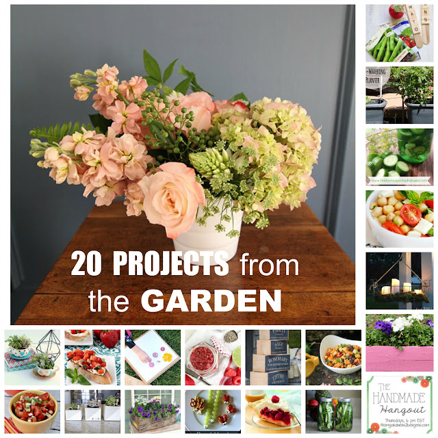 20 Projects from the Garden Round Up on #fg2b