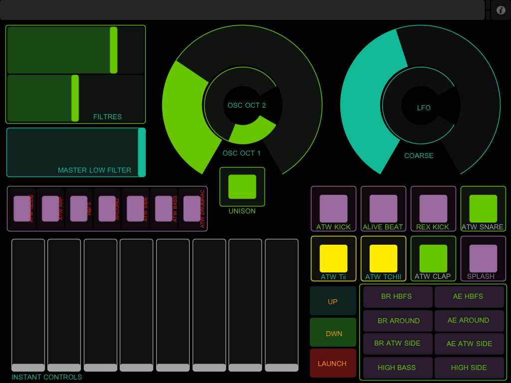 touchosc templates ableton - live remake atw hbfs 2007 ipad touchosc launchpad