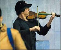 Joshua Bell dans le métro