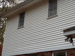 Mildew Removal from vinyl siding