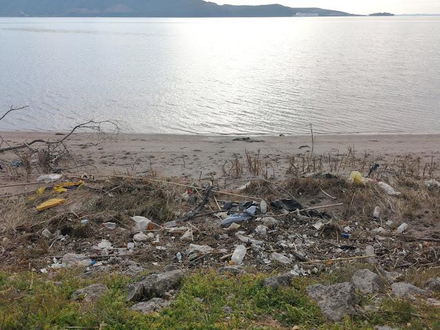 Ηγουμενίτσα: Θλιβερή εικόνα από τα σκουπίδια στον ποδηλατόδρομο (+ΒΙΝΤΕΟ)