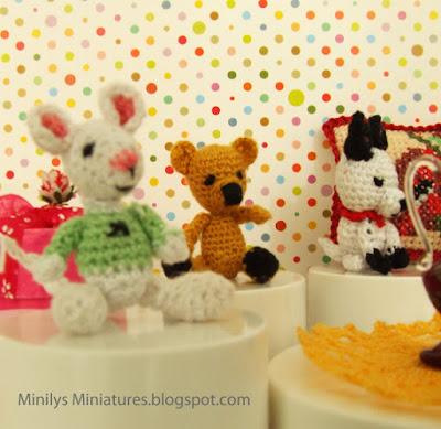 """minilys miniatures"" ""amigurumi"" ""ganchillo"" 1:12 regalos"