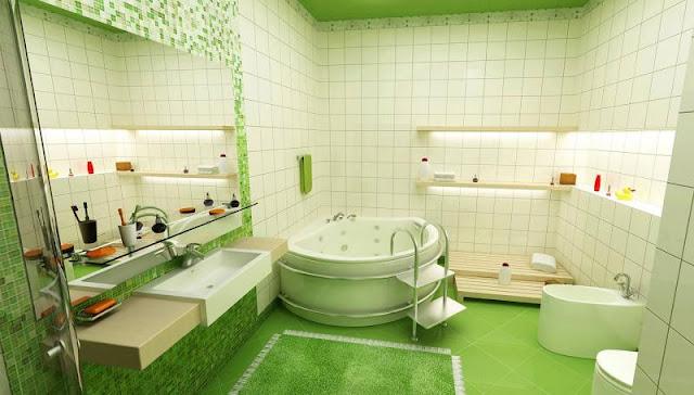 ванна в коттедже фото