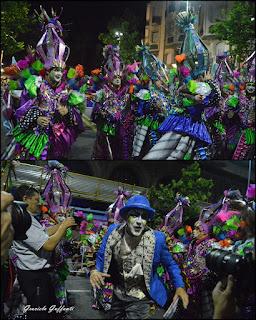 Desfile Inaugural del Carnaval. Uruguay. 2017 Murga Patos Cabreros