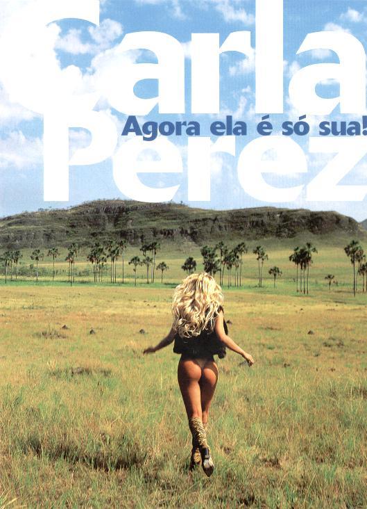 Fotos de Carla Perez nua pelada na Playboy Brasil