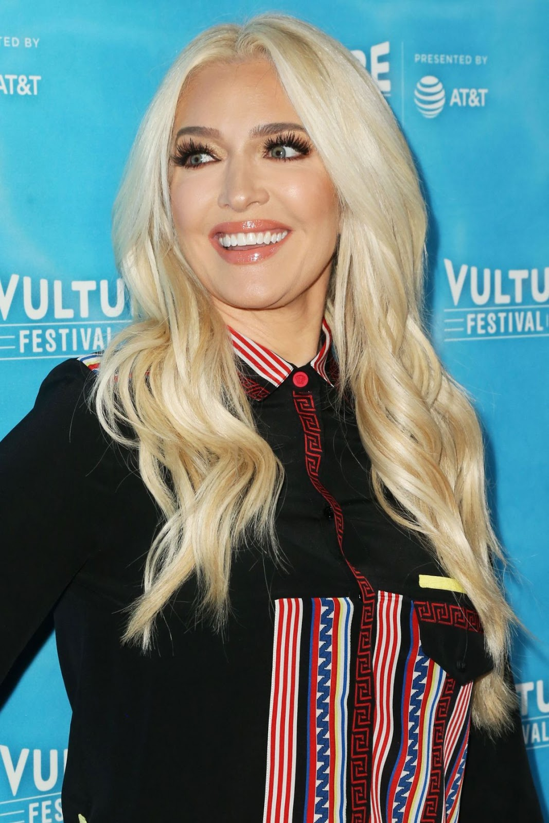 Photos of Erika Jayne at Vulture Festival's It's xxpen$ive to be Erika Jayne in Hollywood