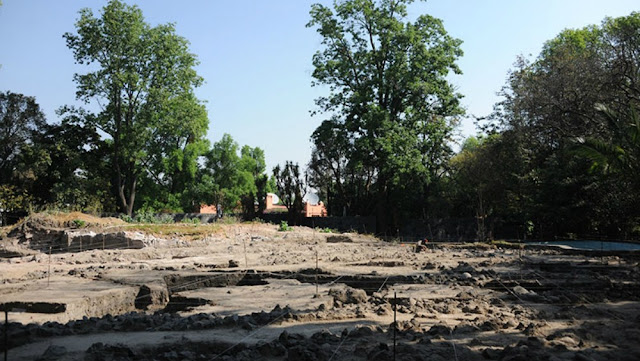 Pre-Hispanic administrative centre found during excavations in Mexico City