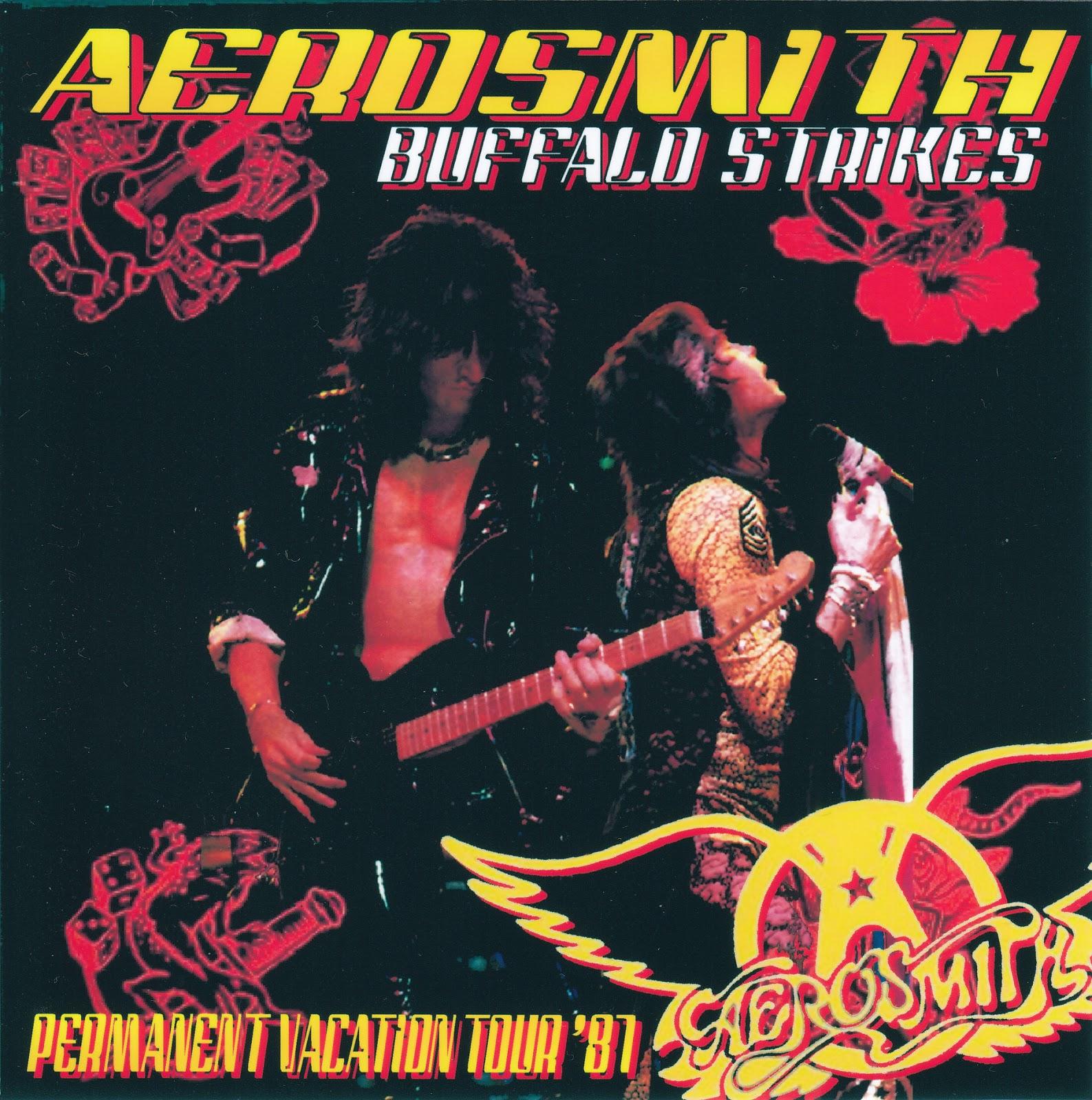 Aerosmith Bootlegs Cover Arts Buffalo Strikes Buffalo
