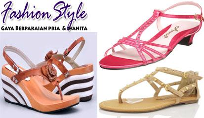 Trend Model Sepatu Wanita Terbaru 2015