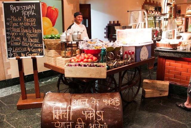 Street Food Festival Indian Cuisine Mumbai India Vegetarian Review