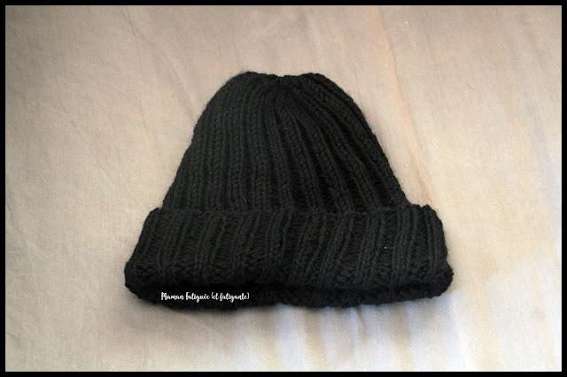 tricot maman fatiguée bonnet