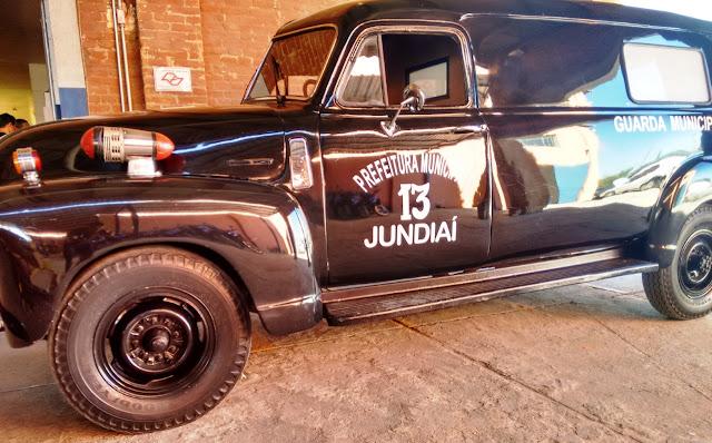 Guarda Municipal de Jundiaí revitaliza a lendária viatura camburão '13'