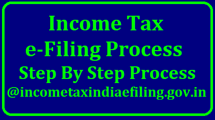 Income Tax e-Filing Process Step By Step Process @incometaxindiaefiling.gov.in How to File Income tax e-Filing Return ITR Online at incometaxefiling.gov.in. Every Indian who are earning more than Rs 500000/- per anum it i smandatory to file Income Tax Return ITR through e-Filing. Income Tax E-Filing Tutorial. Step by Step Process to complete Income Tax efiling Online. Employees have to Register Online at Income Tax India Official Website to complete efiling ITR income-tax-e-filing-process-step-by-step-incometaxindiaefiling-how-to-do-income-tax-e-filing-online-process-incometaxindiaefiling-details Income Tax e-Filing Process Step By Step Process @incometaxindiaefiling.gov.in/2018/04/income-tax-e-filing-process-step-by-step-incometaxindiaefiling-how-to-do-income-tax-e-filing-online-process-incometaxindiaefiling-details.html