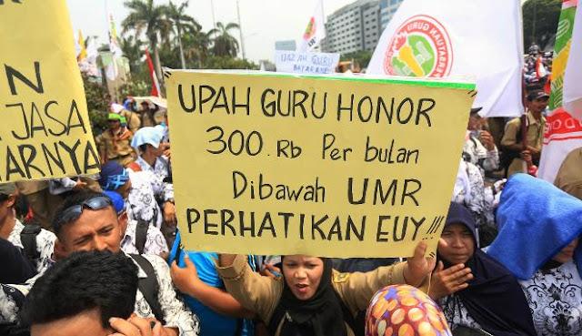 Gardu Banteng Marhaen: Kubu Prabowo Provokasi Guru Honorer