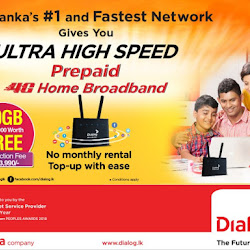 Get 20GB FREE and enjoy the convenience with Dialog Prepaid