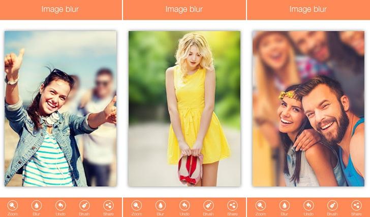 bokeh mode camera app