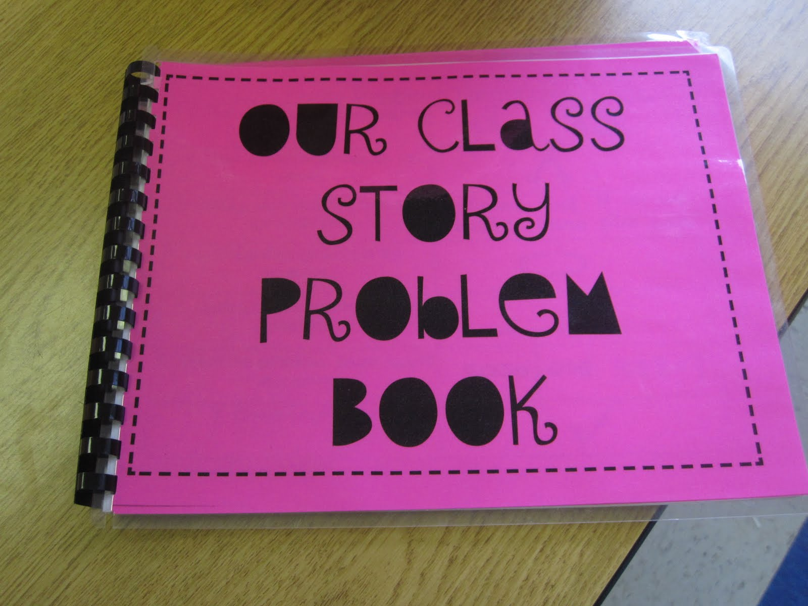 Second Grade Style Math Story Problem Book And A Giveaway
