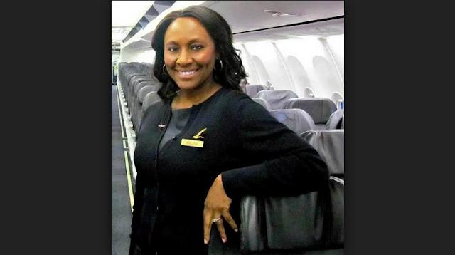 Pramugari Alaska Airlines, Sheila Fedrick