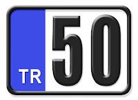 50 Nevşehir plaka kodu