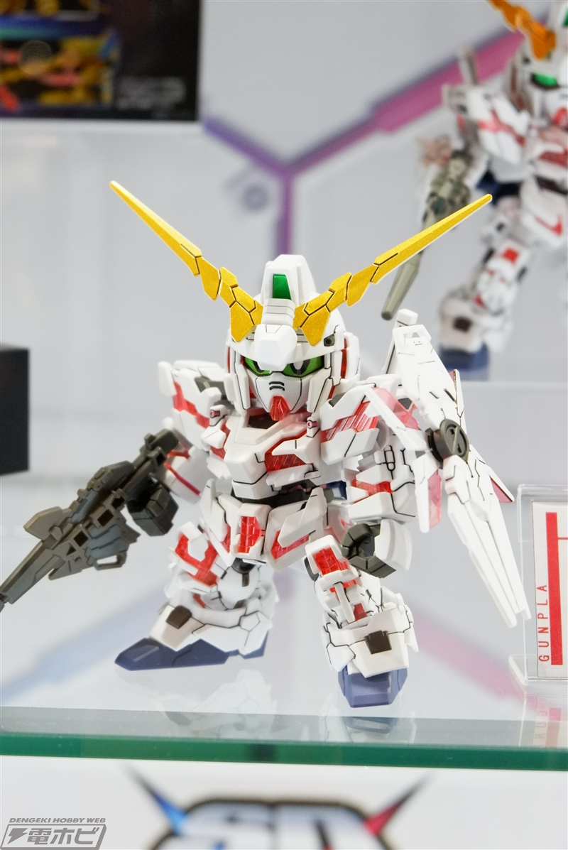 SDCS RX-0 Unicorn Gundam Exhibted at C3 AFA Tokyo 2018 - Gundam Kits Collection News and Reviews