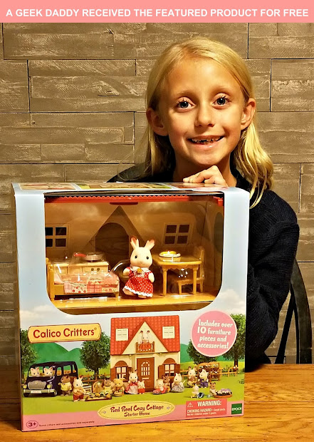 Geek Daddy Calico Critters Red Roof Cozy Cottage