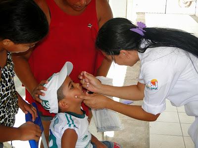 Resultado de imagem para imagens de campanha de vacinação contra a paralisia infantil em sao paulo do potengi