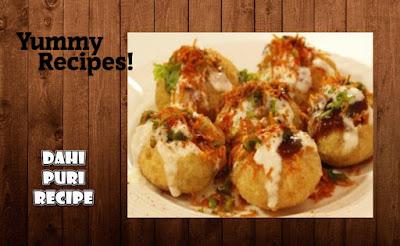 Yummy Dahi Puri Recipe - How To Make Dahi Puri