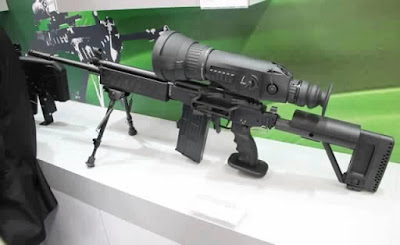 Galil sniper with day night scope - new sniper rifle of Indian Army