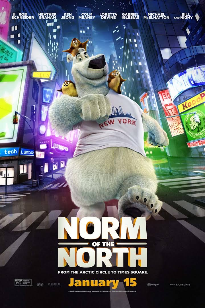 Norm of the North (2016) 720p