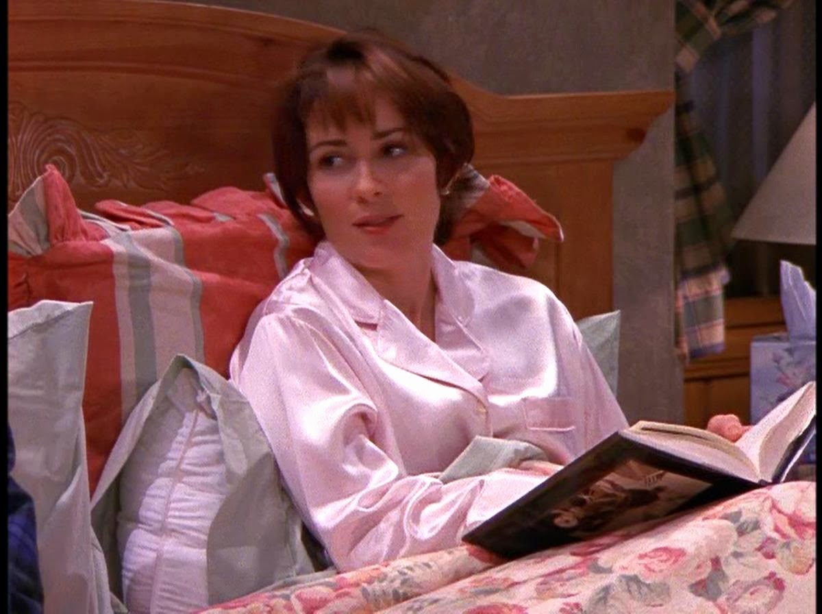 Patrica Heaton Pink Satin Pajamas Revisited Satin Lite