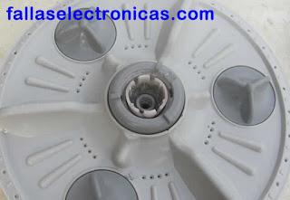 agitador lavadora LG