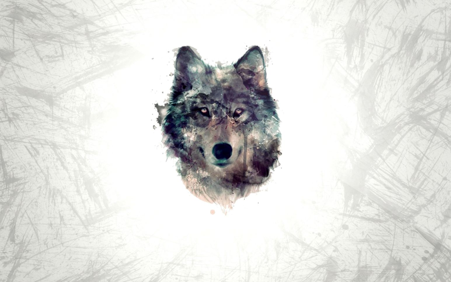 Wolf Minimalism Hd Wallpaper | Best Wallpapers HD Gallery